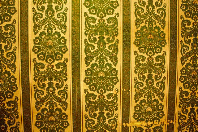Ugly yellow wallpaper