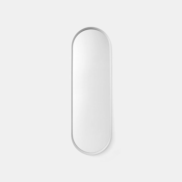 Norm Wall Mirror Oval - White - Monologue London