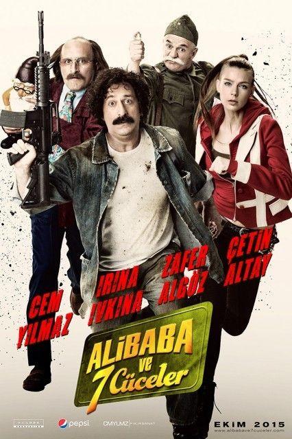 Ali Baba ve 7 Cüceler 2015 DVDRip Full İndir - Torrent İndir