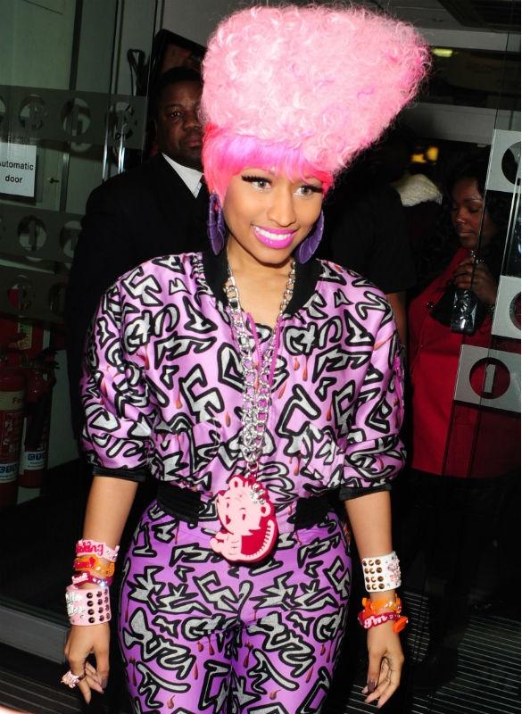 """Niki """"Pink Afro"""""""