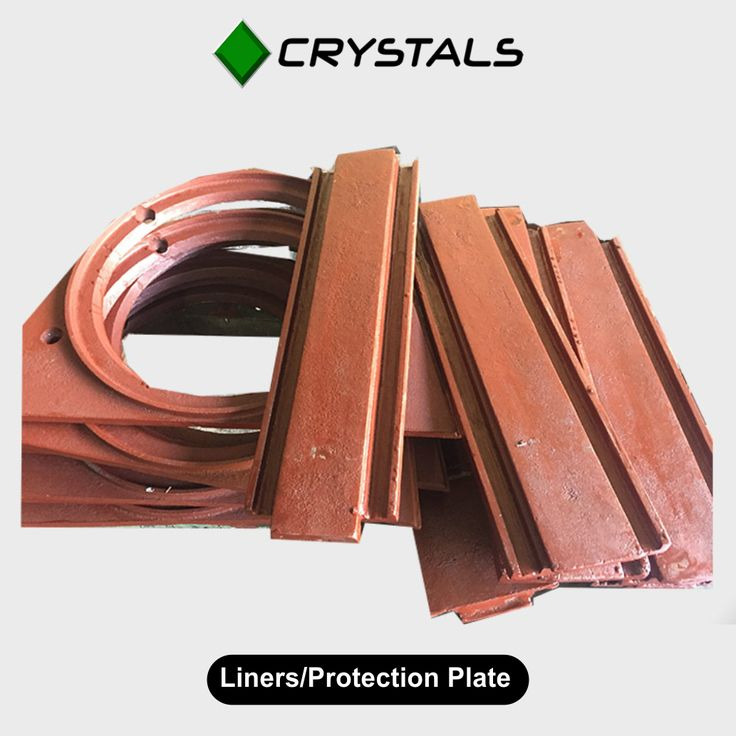 Liners/Protection Plate We manufacture Liners Plate, Protection Plate, Liners Protection Plate, Wheel Housing Liners in Special alloy casting composition. We also manufacture Liners in Manganese Casting as well as in Manganese roll plate, depending on our customer's requirement. #CrystalsGroups #LinearProtectionPlate #machines #industries #protectionplate Visit - http://crystals-group.com/