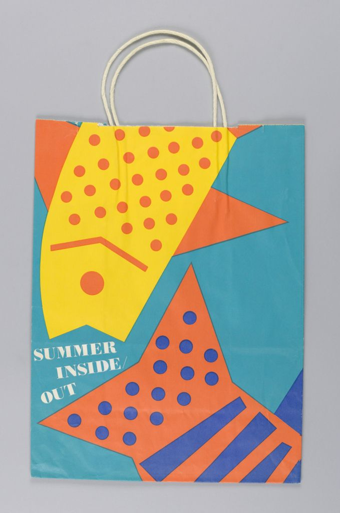 Conran's: Summer Inside Out Shopping Bag #packaging