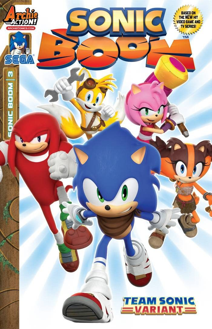ARE YOU READY FOR THE BOOM?! The NEW ONGOING SONIC COMIC BOOK SERIES from Archie…