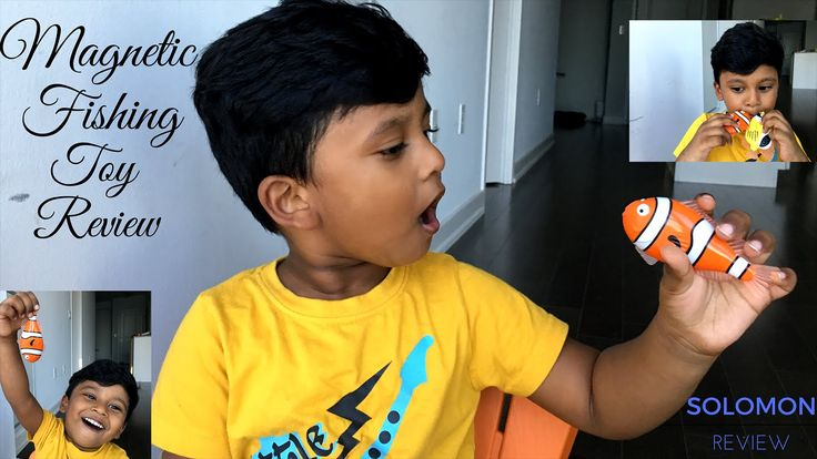 Magnetic Fishing Toy Review
