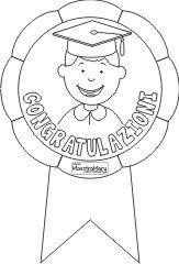 coccarda congratulazioni scuola