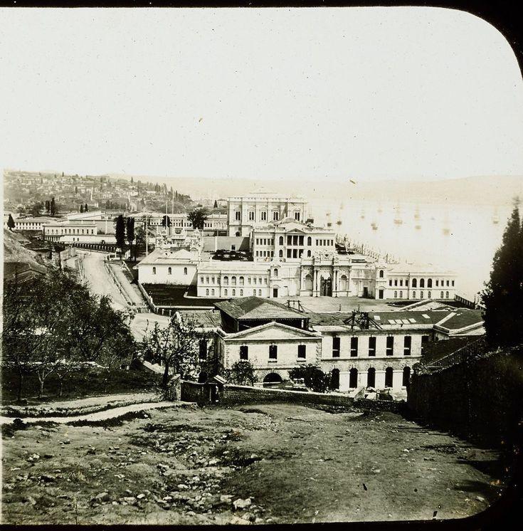 Dolmabahçe / 1850ler Claude-Marie Ferrier fotoğrafı Pierre De Gigord Arşivi http://ift.tt/2joXwMg