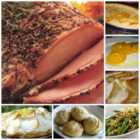 Honey Glazed Ham Dinner