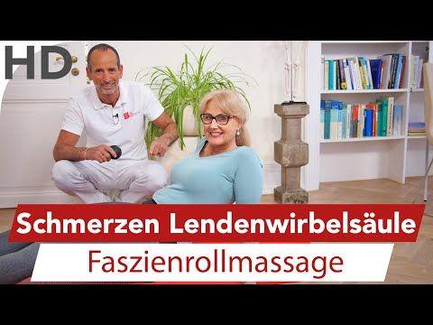 LWS Schmerzen Faszienrollmassage // Rückenschmerzen, Rückenübungen, Lendenwirbelsäule. Faszienrolle - YouTube