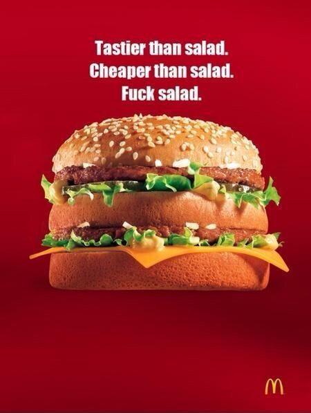 Superior Honest McDonaldu0027s Big Mac Ad From The Poke