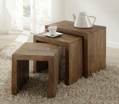 Holz Beistelltische Als Stylisches Highlight Für Ihr Zuhause