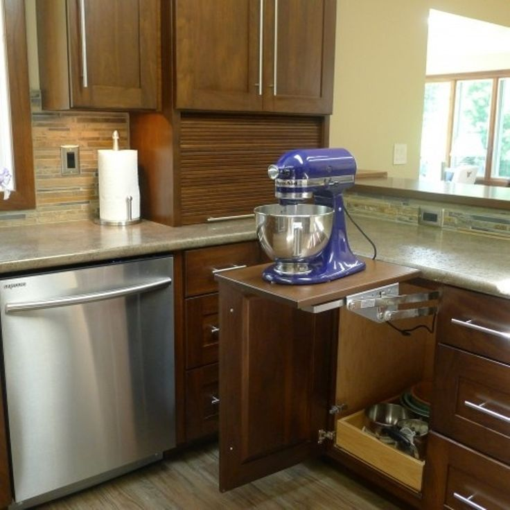 Amazing Small Kitchen Liance Storage Ideas