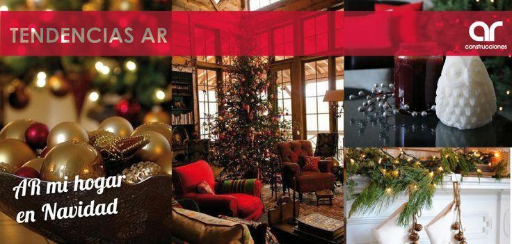 Para esta navidad, haz de tus espacios el mejor ambiente con espíritu navideño de la temporada #TendenciasAR #MiHogarEnNavidad