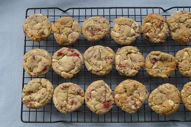 White Choc Chip Cookies by planningqueen, via Flickr