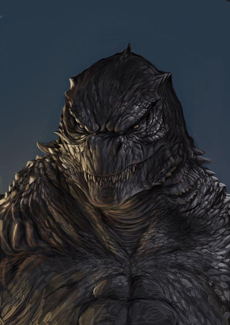 Godzilla by TatianaMakeeva.deviantart.com on @deviantART