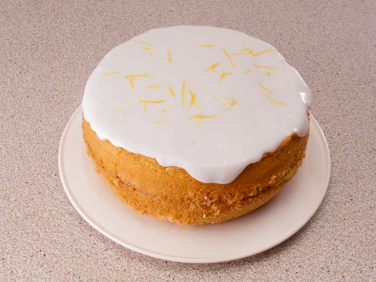 Would Lemon Drizzle Cake Work As A Iced Cake
