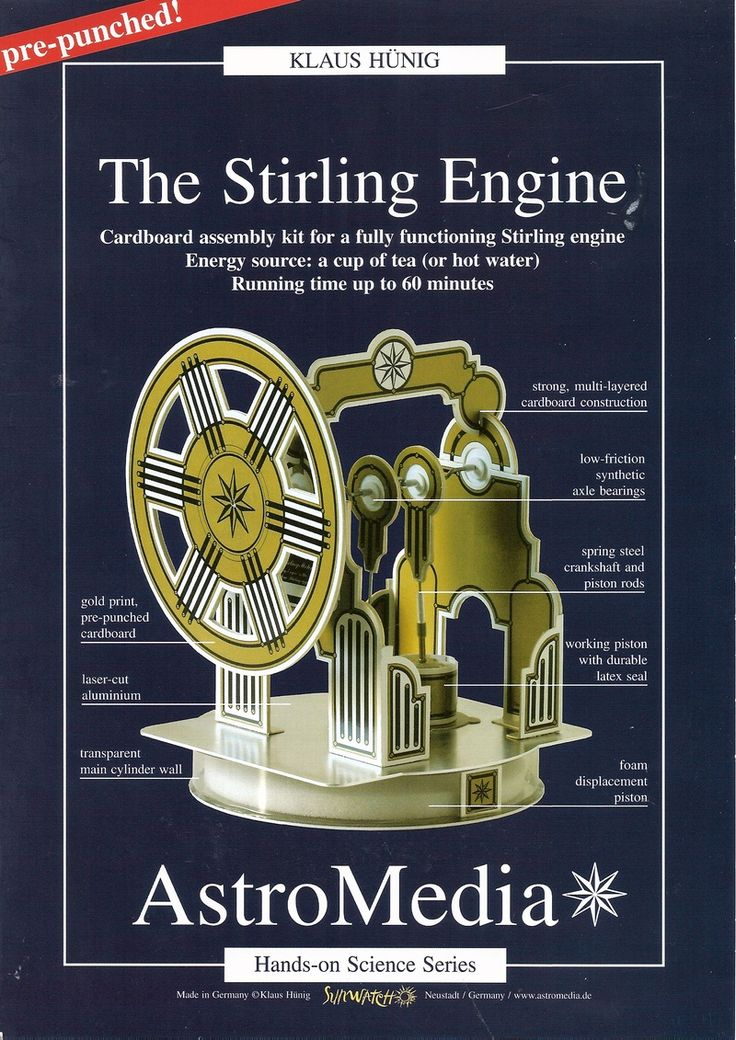 Ceramic Stirling Engine Proyectos electronicos, Energía