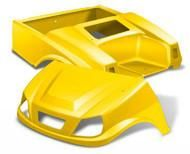 DoubleTake Spartan Golf Cart Body Kit for Club Car DS Yellow