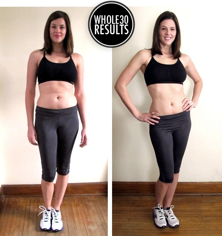 I did the #Whole30! And got awesome results!! Before and After Whole 30 Challenge