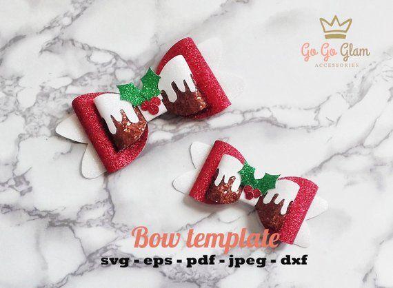 Christmas Bow Svg.Christmas Cake Bow Svg Christmas Bow Templates Christmas