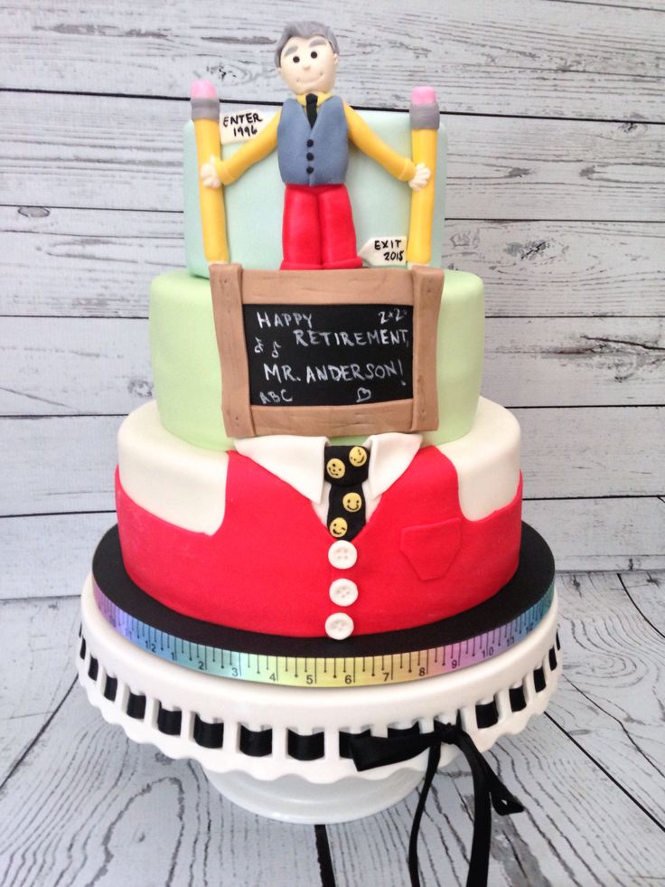 Principal S Retirement Cake By Amy Hart Sweethart Cakes