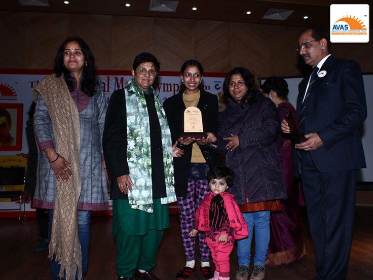 AVAS franchise awarded by Dr Kiran Bedi Mam