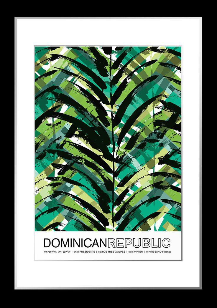 Dominican Republic Travel Poster 79 best MART
