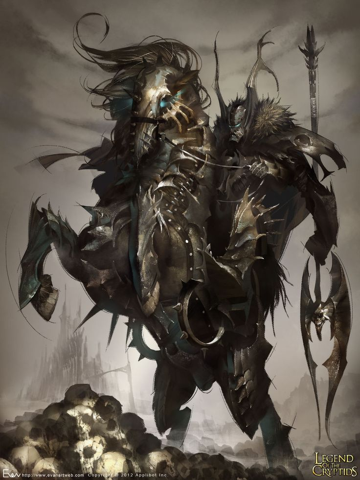 Artist: Evan Lee aka EVANLEE82 - Title: Devil Knight adv - Card: Undead Subduer Eligos (Dark Knight)
