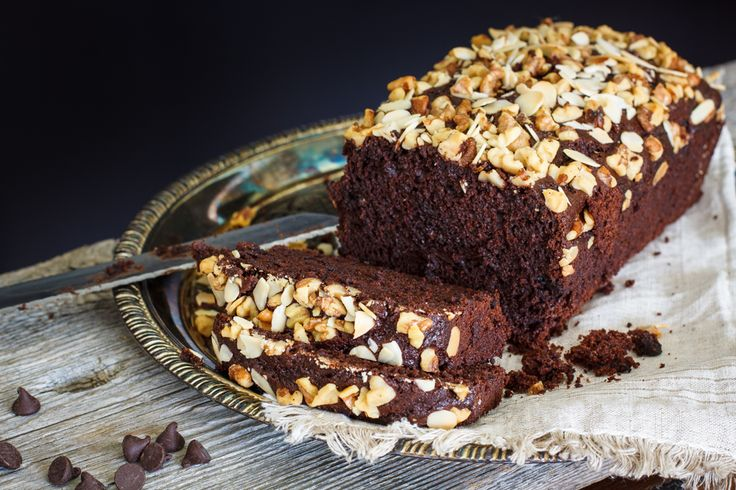 Chocolate Loaf loaded with chocolate chips and nuts