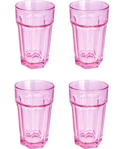 ColourMatch Set Of 4 American Tumblers   Bubblegum Pink. Kitchen Pantry Kitchen ItemsKitchen DiningPastel ...