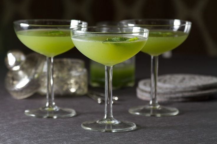 Cucumber Basil Gimlet Cocktail Recipe