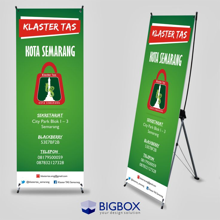 X Banner Design/Standing Banner