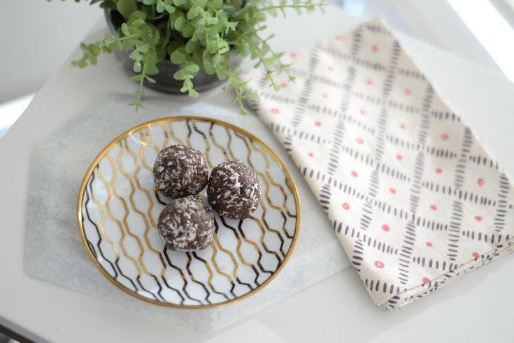 Date & Cocoa Energy Bites