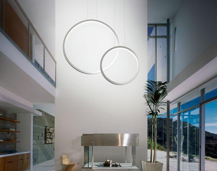 Cini&Nils - Assolo70 sospesa Lampada LED, Design Luta Bettonica