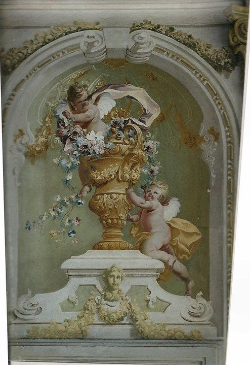 694 best images about cherubs angels on pinterest for Angel wall mural