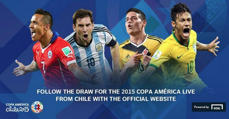 Copa America 2015 : Résultat du tirage au sort, tableau complet - http://www.actusports.fr/125566/copa-america-2015-resultat-du-tirage-au-sort-tableau-complet/