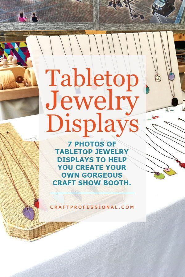 Jewelry Counter Displays Craft Show Ideas And Tips For Your