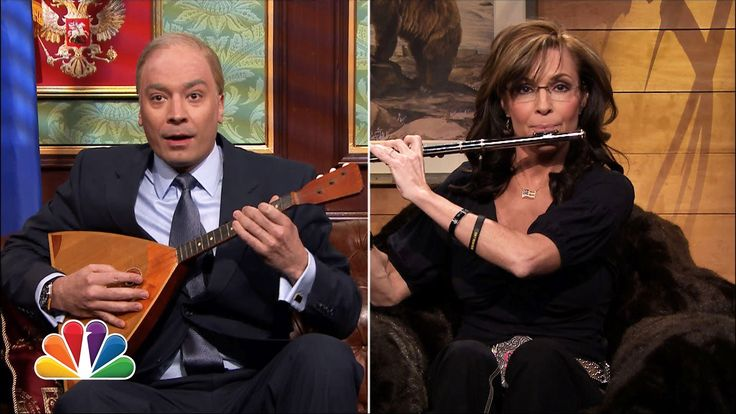 Vladimir Putin Calls Sarah Palin On 'The Tonight Show'