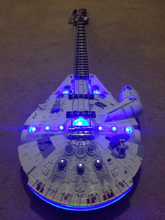 Rebel Bass Guitar  Star Wars by DoniGuitars on Etsy, £600.00