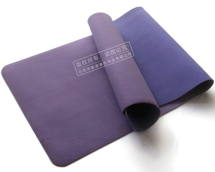 High Grade Purple Anti-slip Eco Yoga Mat Custom Size
