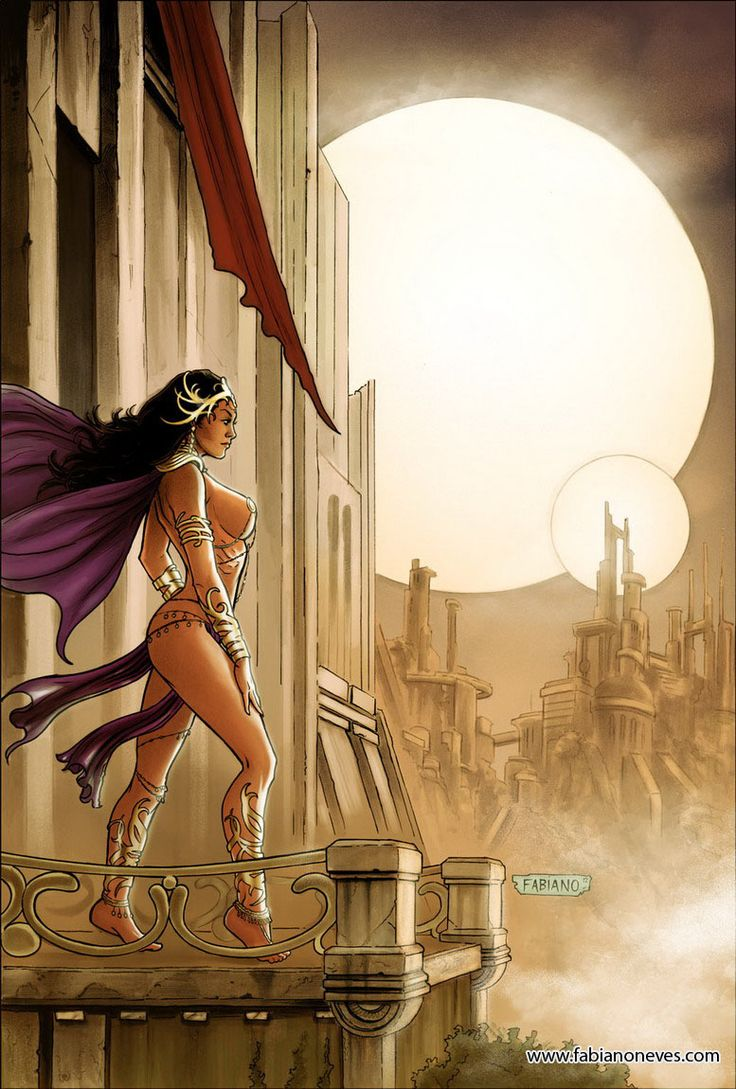 Dejah Thoris 16 Cover Colors by Fabiano Neves