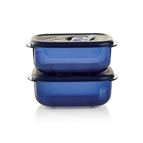 Tupperware Vent 'N Serve® Small Rectangular Set - Plan