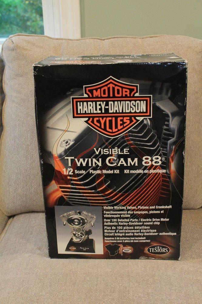 New Testors Harley-Davidson Visible Twin Cam 88 1/2 Scale Model Kit