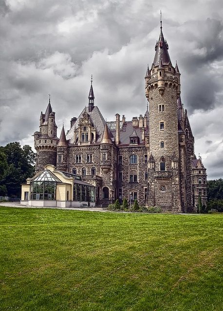 Moszna Castle, Poland.I want to go see this place one day.Please check out my website thanks. #Castles| http://famouscastlesimogene.lemoncoin.org