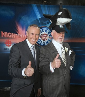 Hockey Night in Canada... will it ever be on again? Could easily become a historic relic.