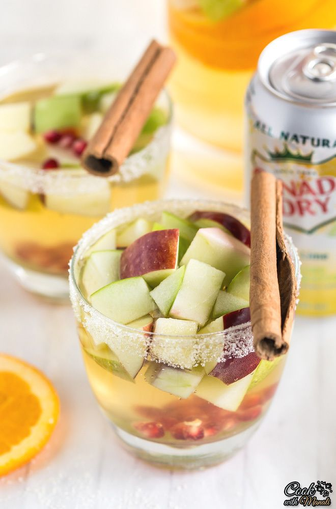 ... on Pinterest | Apple cider sangria, Food and wine and Pink drinks