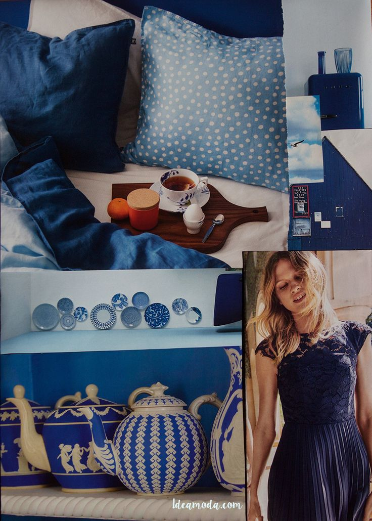 Have a great week! ♥ #moodboard #moodboards #inspirationboard #inspiration #colorinspiration #blue #color #colour #colors #colours #anewweek