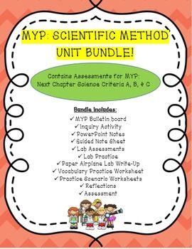 This bundle includes everything you need for a fun and engaging unit on the scientific method. Throughout the unit students are exposed to various scientific tools in order to carry-out the scientific method.  In addition to learning and applying the scientific method, students also   have the opportunity to practice and review their graphing skills as well in order to graph and analyze data they gather during various lab experiments.