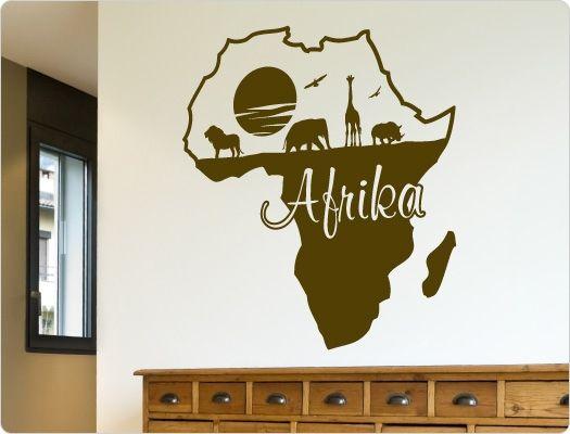 Die besten 25+ Wandtattoo afrika Ideen auf Pinterest Heute am - Wandtattoos Fürs Badezimmer