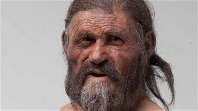Reconstitution d'Ötzi