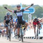 Britain's Alex Dowsett has catastrophic day as Kwiatkowski takes sprint victory in Bristol